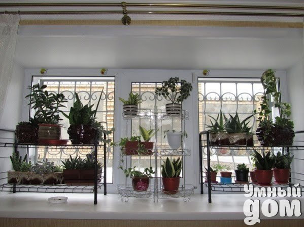 Мастерим полочки для цветов! Посмотрите, сколько вариантов..! Умный дом - идеальный уголок для хозяюшки!