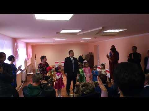 Й.Д. Кобзон на открытии детсада Алёнка. Донецк. 15.10.2016 г.