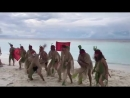 Остров 2 сезон Ритуальный танец ХАКА племени СКОРПИОНЫ