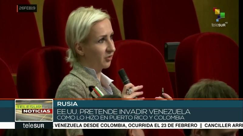 Rusia acusa que EE.UU. insta intervención militar en Venezuela