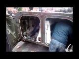 Бои в Мариуполе 09.05.2014 г. Украинские БМП-2