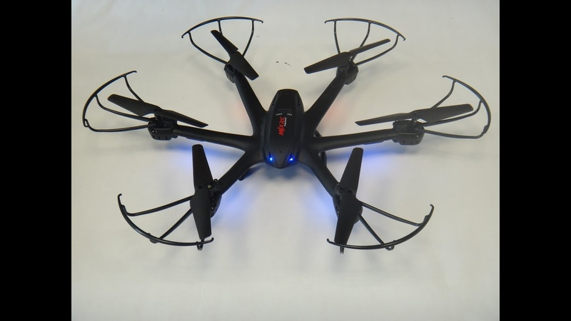 Обзор Гексакоптер MJX X600 - 2.4G 4CH RC Drone Hexacopter 6-axis Gyro UAV 3D Roll Auto Return Headl