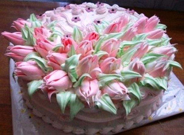 Кремовый крем для украшения торта