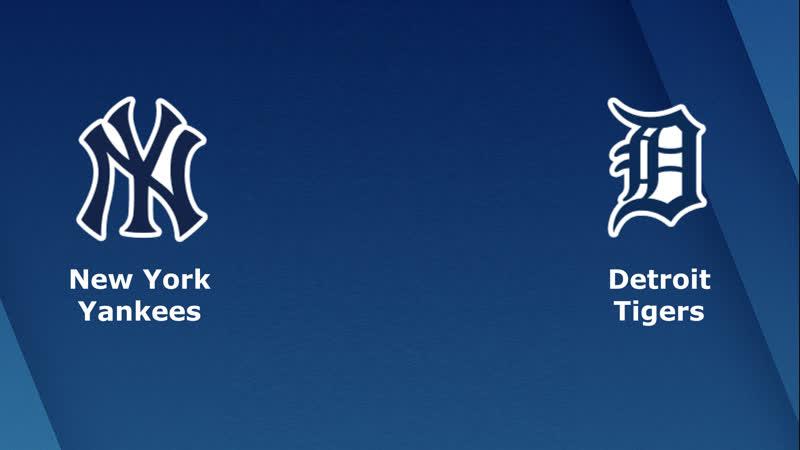 AL / 04.06.18 / NY Yankees @ DET Tigers (1/2)