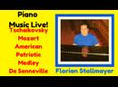 Classical Piano Music LIVE Ballade pour Adeline Tschaikovsky Piano Concerto No 1 Mozarts Turkish March