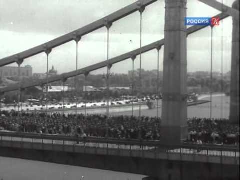 Проконвоирование военнопленных немцев через Москву