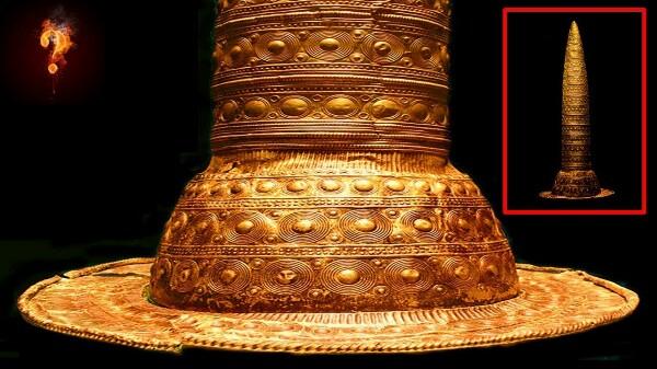 Загадочная золотая шляпа из Германии Среди всех экспонатов Музея доисторического периода и ранней истории в Берлине этот древний артефакт, пожалуй, является самым загадочным. Совершенно неясно,