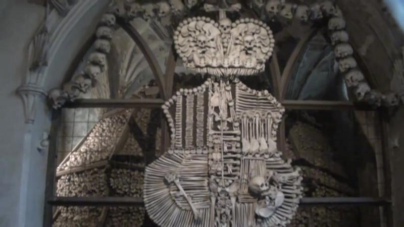 Ужас! Церковь на 40000 человеческих костях 1870 год.