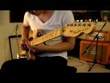 Музыка к фильму Трон на гитаре