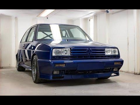 MK2 Volkswagen Golf Rallye Rebuild and Restoration