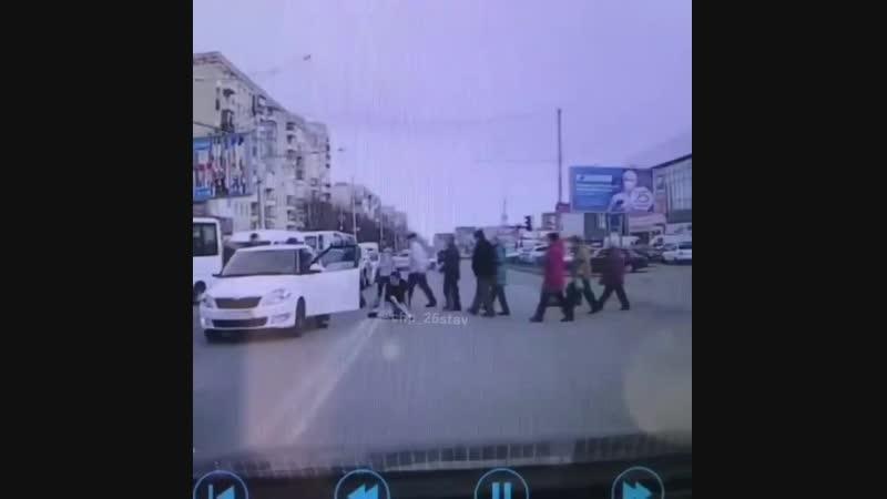 Разборки на улице Тухачевского