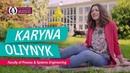 Karyna Oliynyk | Faculty of Process Systems Engineering | OVGU