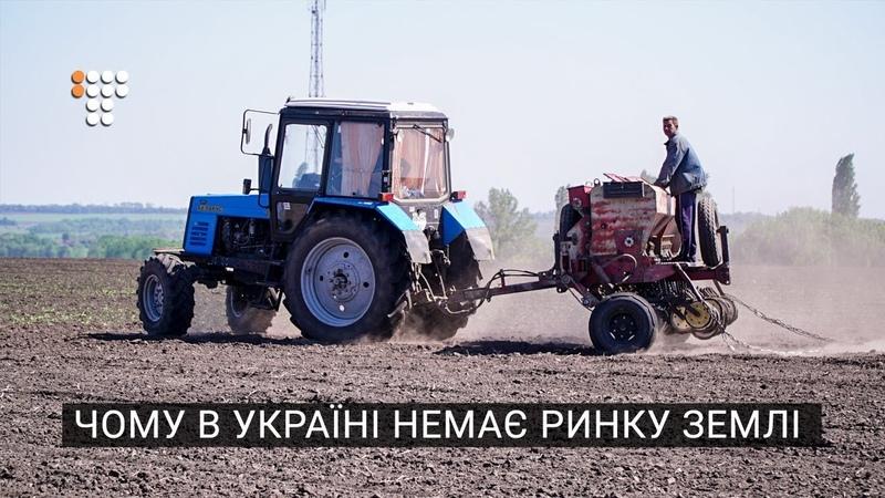 Чому в Україні немає ринку землі
