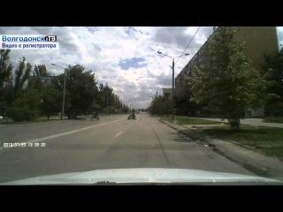 Видео с регистратора. Волгодонские мото- скуто- пофигисты!?
