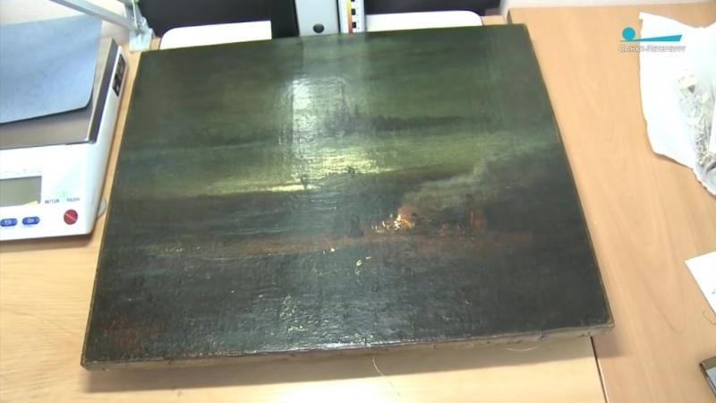 Подлинник картины Саврасова нашли в поезде Киев — Петербург