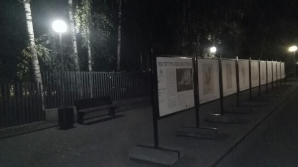 Фонари привели в порядок в Лианозовском парке