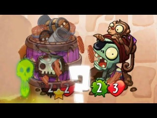 #Zombot's Best Trainer - SET 3 AND 4 CARDS GAMEPLAY - Plants vs. Zombies Heroes #9