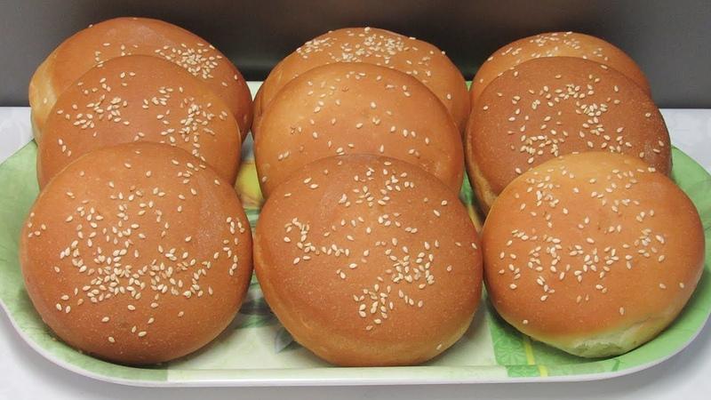 Идеальные Булочки для Бургеров / От этих булочек ВСЕ в Восторге