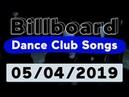 Billboard Top 50 Dance Club Songs (May 4, 2019)