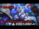Minotaur 25 Assist in 14 Mins Zodiac Skin Gameplay By Top 1 Global - Mobile Legends