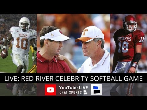 Red River Celebrity Softball Game 2018 Texas vs Oklahoma Legends