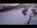 Алекс прыгает с гаражей 2018