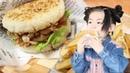 バーガーレシピ:「バラ焼きライスバーガー」 Barayaki Rice Burger Recipe