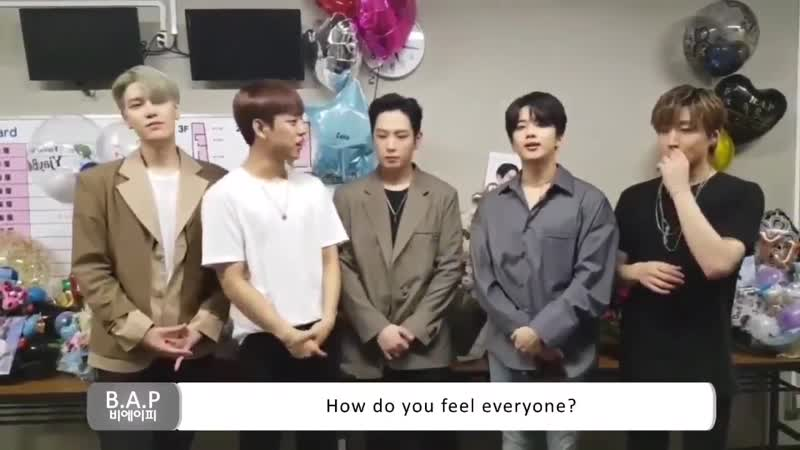 181103 B.A.P'S GREETINGS TO BABYZ [B.A.P 2018 Europe Tour <Forever with BABYz>]