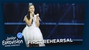 Marija Spasovska Doma First Rehearsal F Y R Macedonia Junior Eurovision 2018