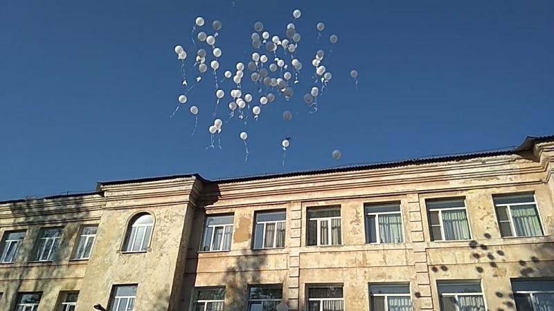 Запуск шаров на День Мира