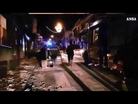 VIDEO ANSA - Etna terremoto 26 dicembre 2018