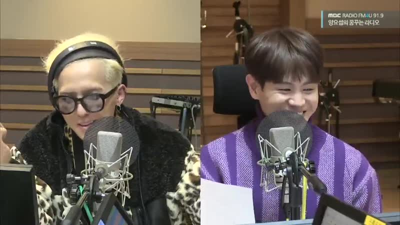 When Mino jokes that he thinks all the other members are jealous of him, his face, the han