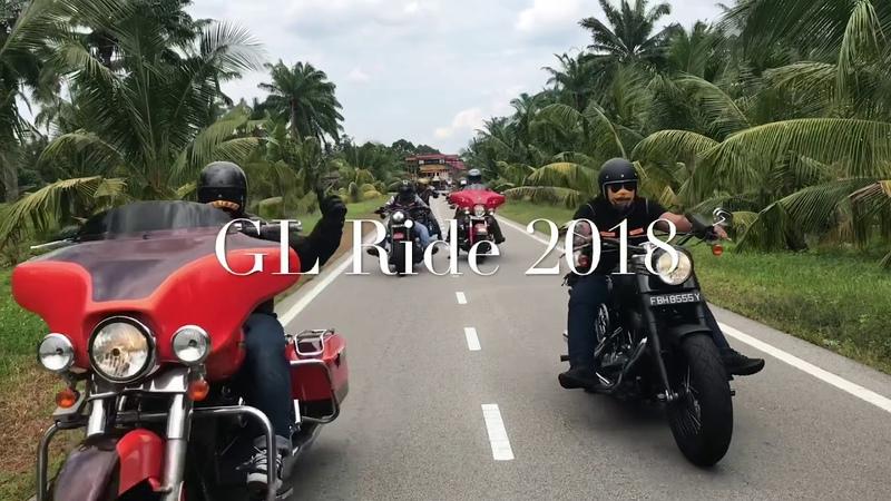 Bandidos MC Singapore GL Ride 2018