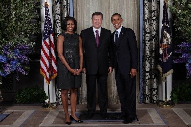 Янукович в США