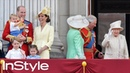 Prince Louis Marks His First Trooping the Colour with the Cutest Wave | British Royals | InStyle