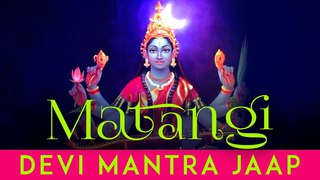 Most Powerful Matangi Devi Mantra | Matangi Mata Mantra Sadhna | Durga Mantra Stotras | Kali Mantra
