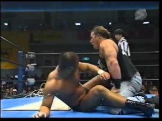 (WWEWM)  27.09.2000: John Zandig vs Tomoaki Honma (Cactus Death Match)