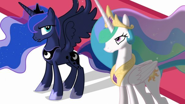 My little pony ♥ неделя принцессы селестии♥