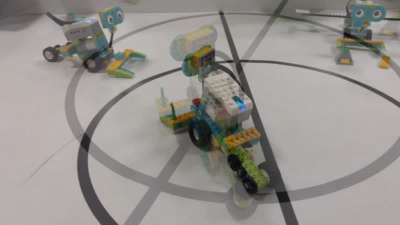 Луноход с Lego WeDo 2 0 Слобода ДОСААФ