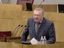 Жириновский Позор вам Ненавижу вас негодяи