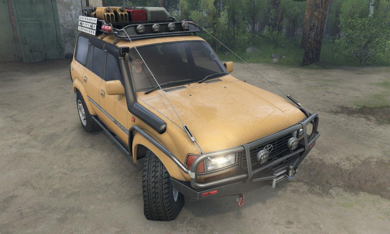 Toyota Land Cruiser 80 VX для 03.03.16 для Spintires - Скриншот 2