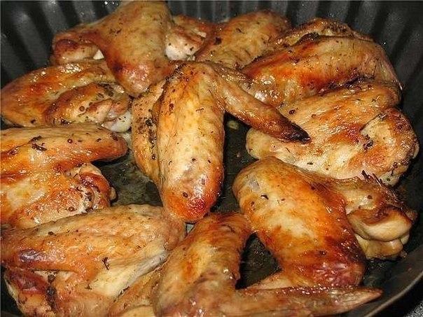Маринад для куриных крыльев