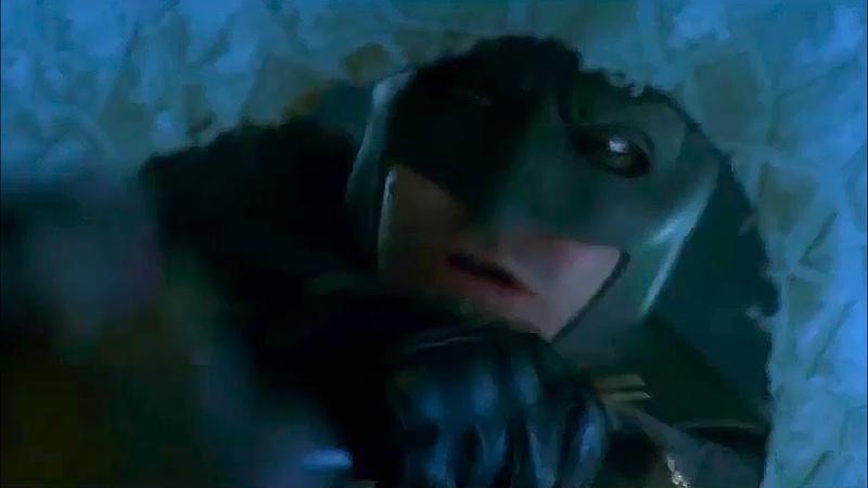 Cut Scenes: Batman takes Harley \ El Diablo survived «SUICIDE SQUAD»