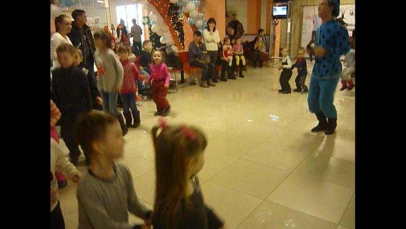 3 января Маша и Медведь в гостях в ТРЦ Плаза, играем с Машей