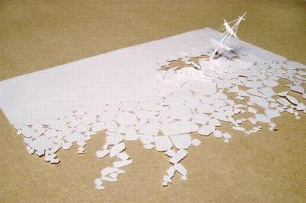 Бумажные скульптуры Peter Callesen _kh2IPF8AVM