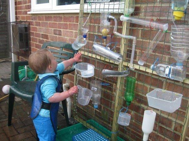 Идея игры для детей на даче. (1 фото) - картинка