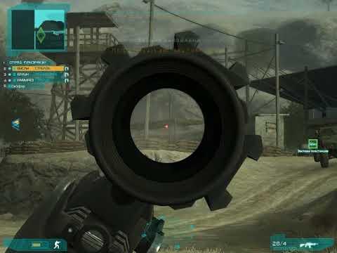 Ghost Recon Advanced Warfighter, уничтожаем мост