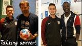 Talking Soccer with Akon and Game of Thrones Nikolaj Coster-Waldau!