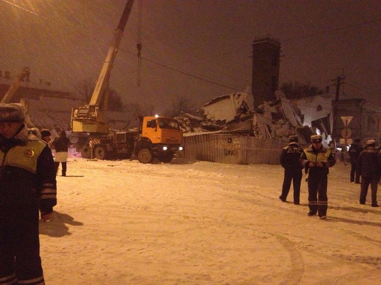 В Таганроге 4 месяц проходит процесс по делу об обрушении строящегося трехэтажного здания