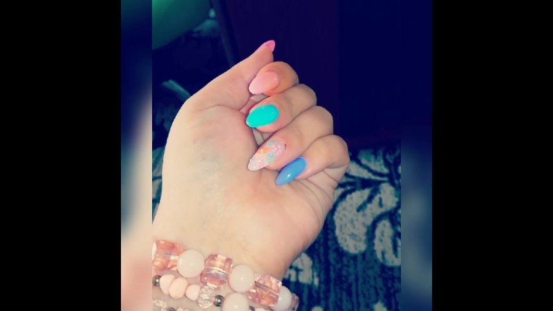 Mano nagai 😍💅 мои ногти 😍😍💅 my nails 😍💅 geliniainagai gelish gelishnail gelpolish manikiuras nails💅  nails maniciurehybr
